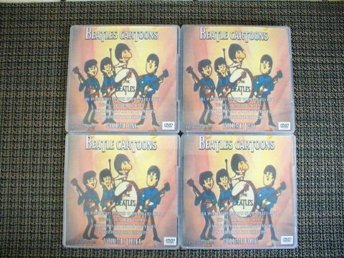 Beatles Cartoons Complete Animated TV Show Series 4 Discs