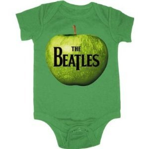 Beatles Apple A Day Infant Onesie (12-18 Months) [Apparel]