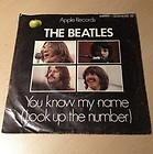 The Beatles Let It Be You Know My Name – Single German