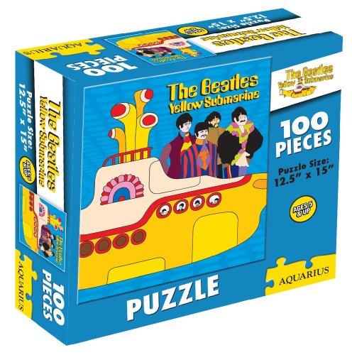 Beatles- Yellow Sub 100 pieces Childrens Puzzle
