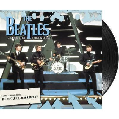 (12×14) The Beatles Live in Concert 2012 Special Collector's Edition Music Calendar