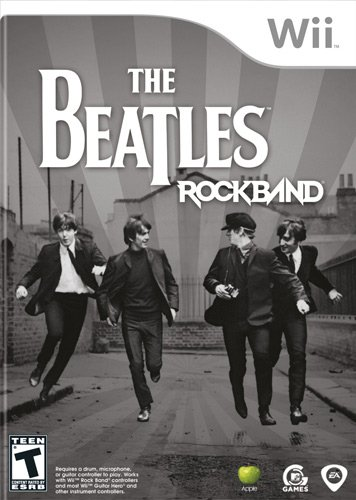 Wii The Beatles: Rock Band – Software Only