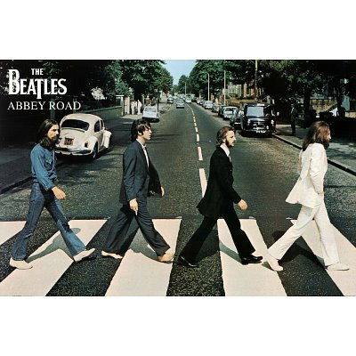 The Beatles- Abbey Road Poster Print, 36×24 Collections Poster Print, 36×24
