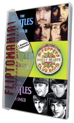 Fliptomania Beatles Flipbooks Giftpack