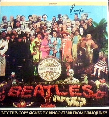 Sgt. Pepper's Lonely Hearts Club Band – Ringo Signed