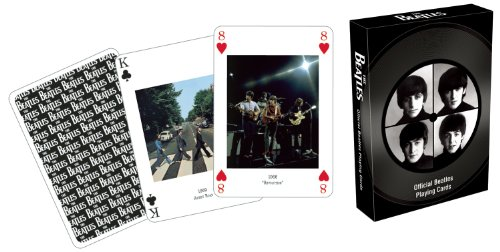 Beatles Group Playing Cards